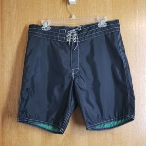 Birdwell Beach Britches Black 311 Board Shorts 32